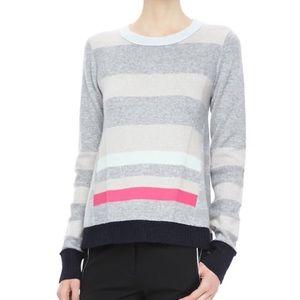 Diane Von Furstenberg Beth Stripe Cashmere Sweater